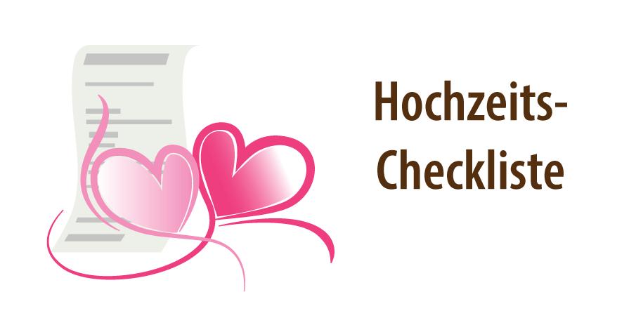 """Banner zum Artikel """"Checkliste Hochzeit"""""""