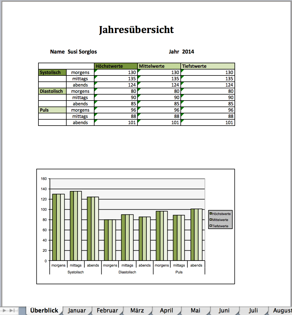 Excel Tabelle Download