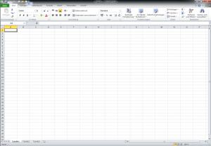Excel 2010 öffnen