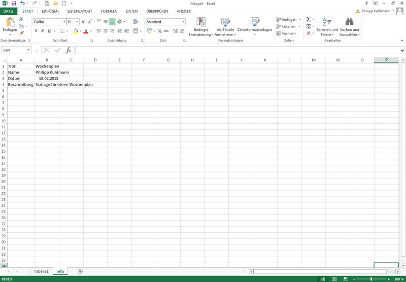 Arbeitsblatt Excel Verstecken : Excelvorlage erstellen excel vorlagen für jeden zweck