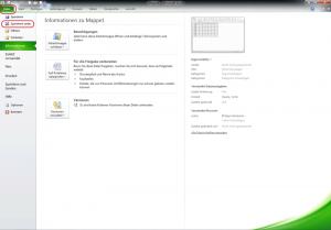 """Register """"Datei"""" wählen zum Speichern unter"""