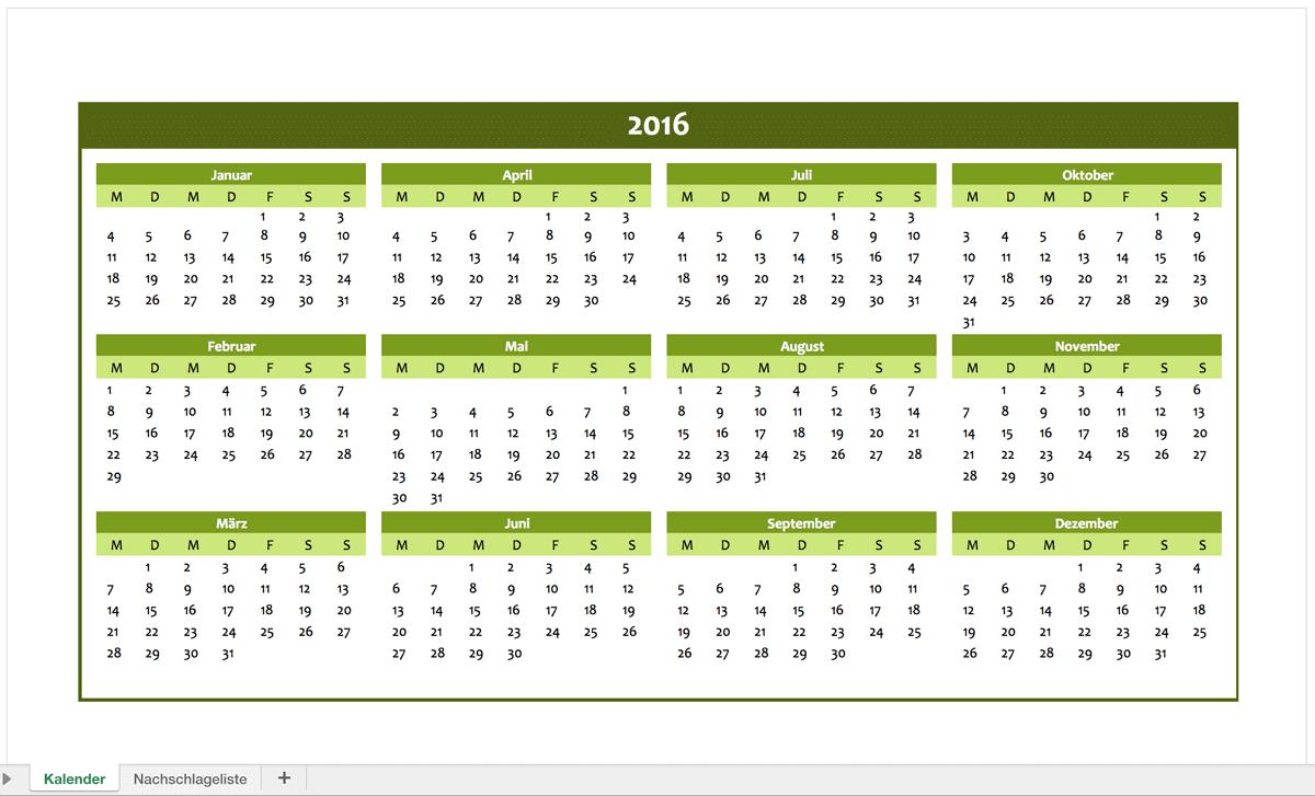 Fantastisch Kostenlose Kalender Vorlagen 2015 Zeitgenössisch ...