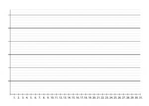 Blanko Vorlage als PDF zur Gewichtsprotokollierung
