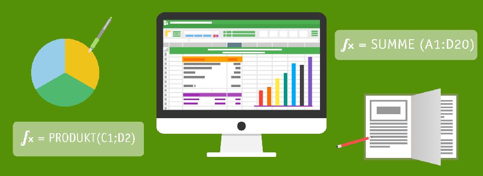 Titelgrafik von Excel-Vorlagen