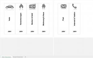 Breite Ordnerrücken mit Excel
