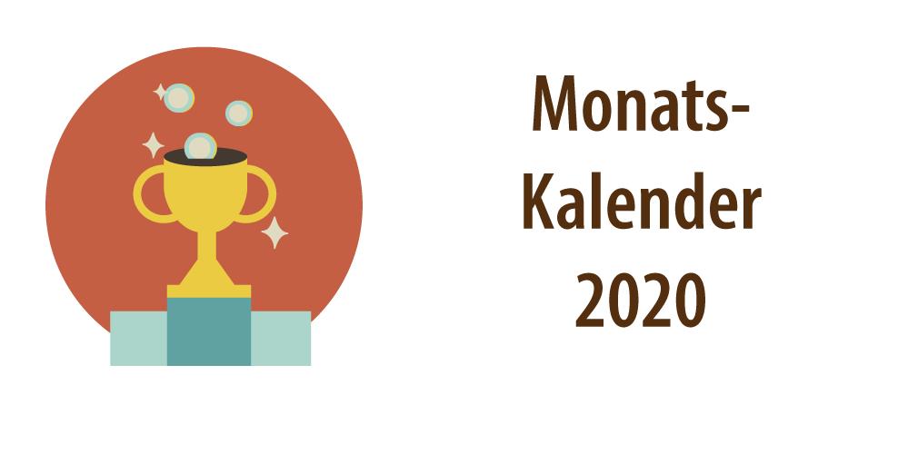 Banner Monatskalender 2020