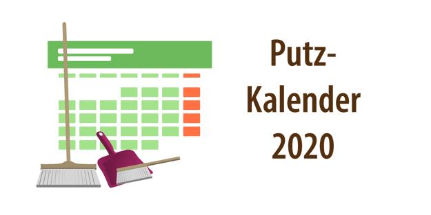 "Headerbild Artikel ""Putzplan 2020"""