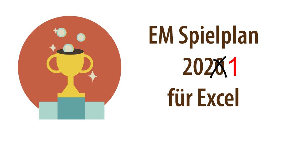 """Headerbild für den Artikel """"EM Spielplan 2021"""""""