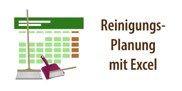 Excel putzplan für paare Putzpläne für