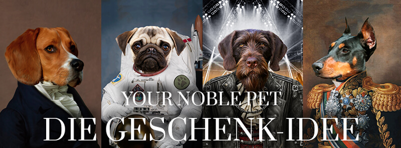Werbung für Your Noble Pet
