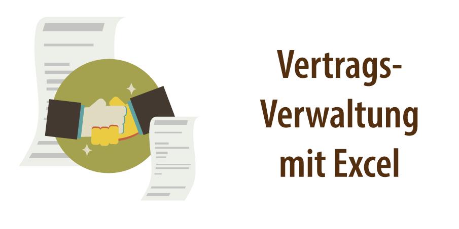 """Header für Artikel """"Vertragsverwaltung mit Excel"""""""