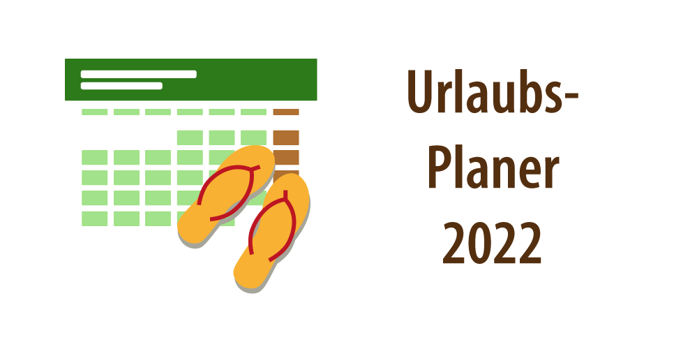 """Header für Artikel """"Urlaubplaner 2022"""""""