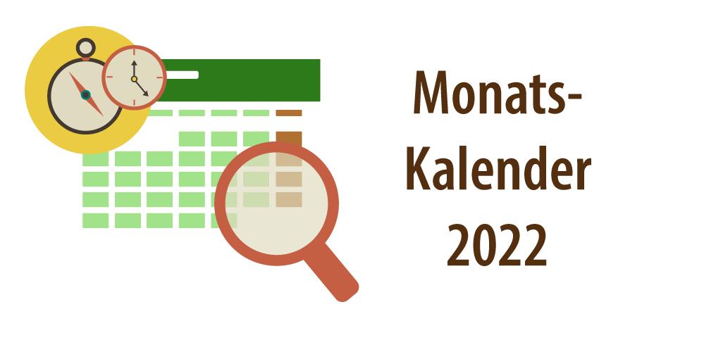 """Header für Artikel """"Kalender 2022 Excel & PDF"""""""