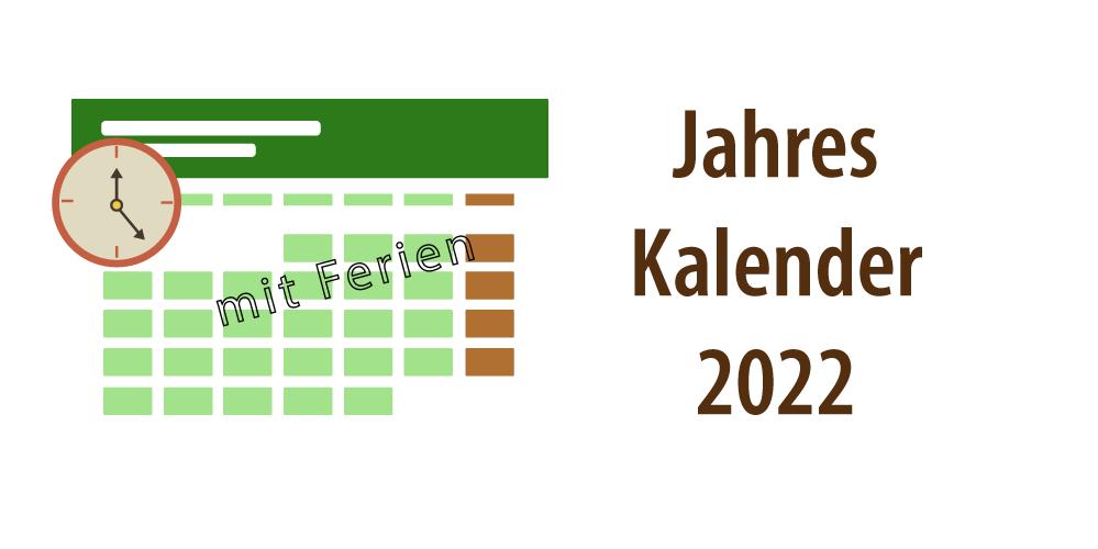 """Banner für Artikel """"Jahreskalender 2022"""""""